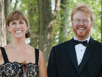 Violinist Heather Haughn and pianist Jay DeWire