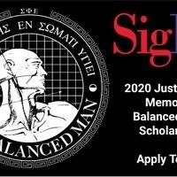 Application Deadline for the Balanced Man Scholarship