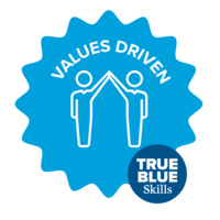 True Blue Skill - Values Driven