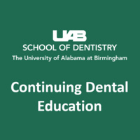UAB Continuing Dental Education