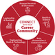 Connect with Career Community graphic element