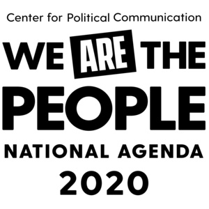 """University of Delaware's Center for Political Communication presents the National Agenda 2020 speaker series, """"We Are the People"""""""