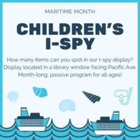Children's I-Spy Display