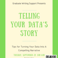 Telling Your Data's Story  | Graduate Education & Life