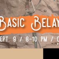Basic Belay Clinic