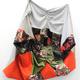 Nicole Davis's untitled (Aretha) work made with reclaimed fabrics