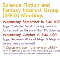 Science Fiction & Fantasy Interest Group Meetings