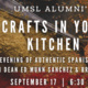 Crafts in Your Kitchen: An Evening of Authentic Spanish Cuisine with Dean Ed Munn Sanchez & Brian Owens