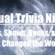Virtual Trivia Night: Movies, Shows, Books, and More that Changed the World
