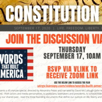 "University Library: ""Words That Built America"" Film Discussion"