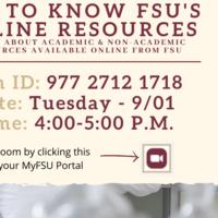 Get to Know FSU's Online Resources