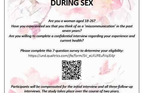Research Study: Miscommunications During Sex & Mental Health
