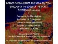 Border Environments: Toward a Political Ecology of the Edges of the World