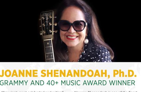 Joanne Shenandoah - Performance - Global Awareness Conference