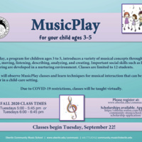 MusicPlay at Community Music School