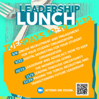 Leadership Lunch: Leadership and Advocacy - How to Keep the Momentum Going