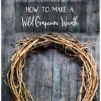 Grapevine Wreath Making