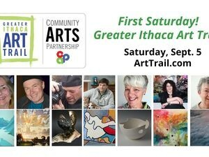 First Saturday on the Art Trail. Live AND Virtual!!