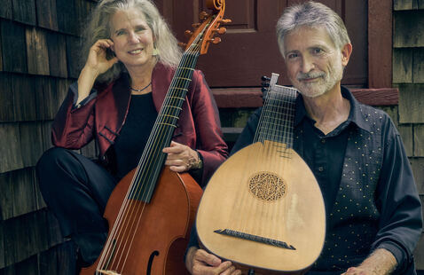 Tuesday Tunes:  Ronn McFarlane & Carolyn Surrick