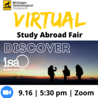 Virtual Study Abroad Fair: Discover ISA