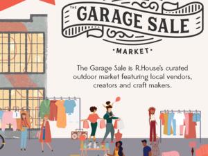 the Garage Sale - An outdoor mini-market