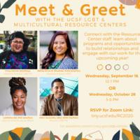 Meet & Greet: UCSF LGBT & Multicultural Resource Centers