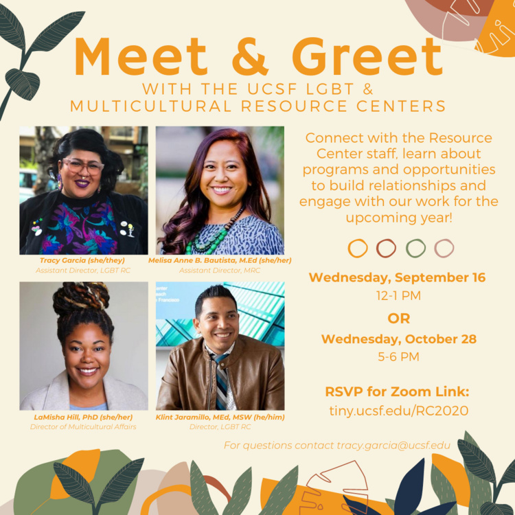 Oct 28, 2020: Diversity Trivia UCSF LGBT & Multicultural Resource Centers