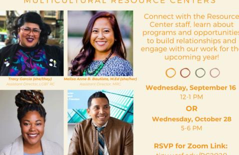 Meet & Greet: LGBT & Multicultural Resource Center
