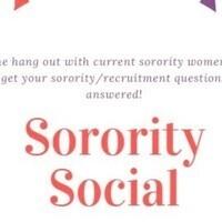 Sorority Social (Virtual)