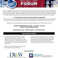 Valley Industry Association - CEO Forum