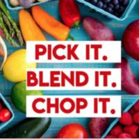 pick it blend it chop it