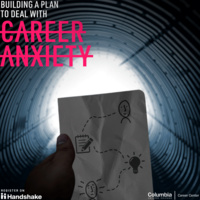 Building a Plan to Deal with Career Anxiety