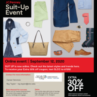 JCPenny Suit-Up Event