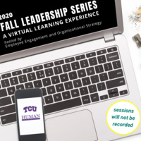 2020 Fall Leadership Series: A Virtual Learning Experience
