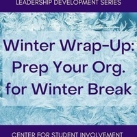 Winter Wrap-Up: Prepare Your Org. for Winter Break