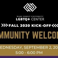 Q-mmunity Welcome with the LGBTQ+ Center