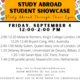 Study Abroad Student Showcase
