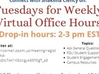 First Gen and Low Income Student Support Office Hours