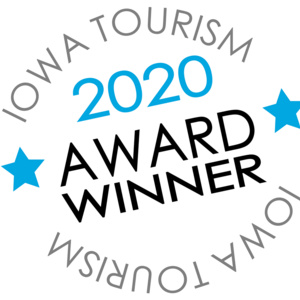 2020 Iowa Tourism Award Winner