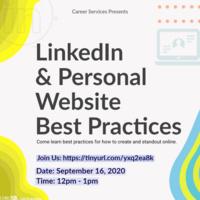 LinkedIn & Personal Website Best Practices