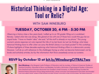 Historical Thinking in a Digital Age: Tool or Relic?