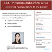 Delivering nanomedicine to the kidney: feat Eun Ji Chung, PhD