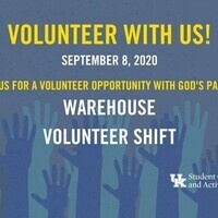 Volunteer Shift with God's Pantry