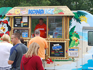 Kona Ice Truck visit during a past event