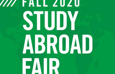 Fall 2020 Study Abroad Fair