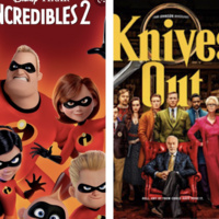 """Outdoor Movie at Meade Stadium """"Incredibles 2"""" and """"Knives Out"""""""