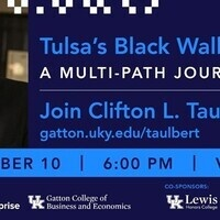 A Conversation with Clifton L. Taulbert, Entrepreneur, Pulitzer Nominee, International Lecturer, CEO.