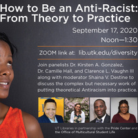 Lunch and Learn: How to be an Anti-Racist - From Theory to Practice
