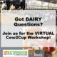 Cow2Cup Workshop Flyer