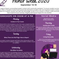 HonorWeek2020